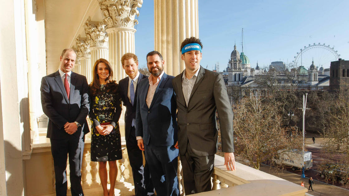 1120x630_The Duke of Cambridge, Duchess of Cambridge, Prince Harry, Steve Jackson and Jon Salmon